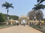 Gate to the Mysore palace